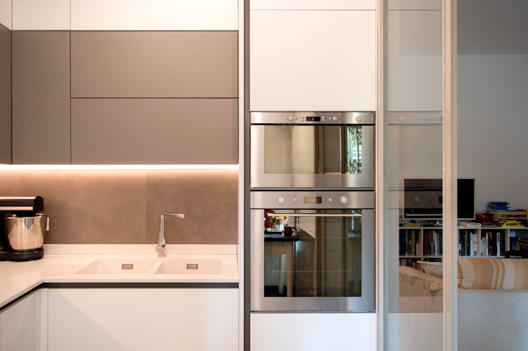 OPA Architetti Built-in kitchens MDF White