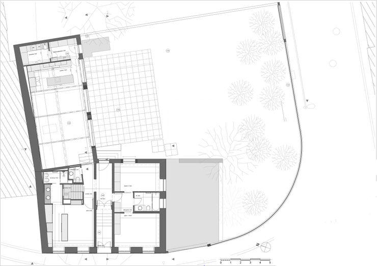 Planta piso 0 - Casa em S. Mamede (arquitetura) - SHI Studio Interior Design ShiStudio Interior Design