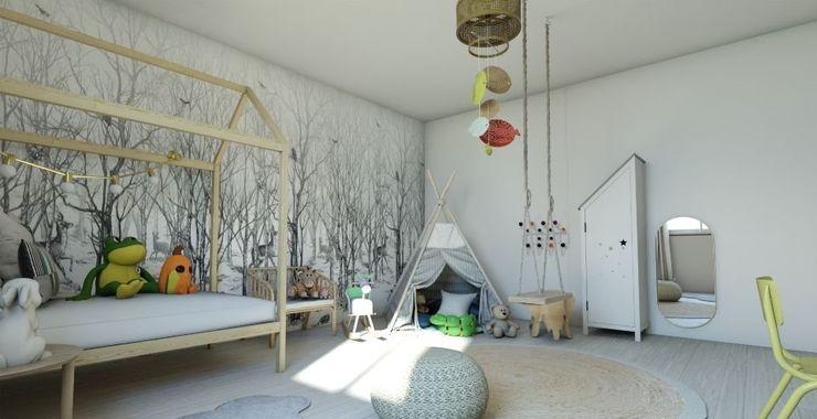 Habitación Montessori Gabi's Home Habitaciones infantilesCamas y cunas Beige