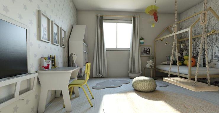 Habitación Montessori Gabi's Home Habitaciones infantilesIluminación Beige
