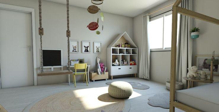 Habitación Montessori Gabi's Home Habitaciones infantilesArmarios y cómodas Beige