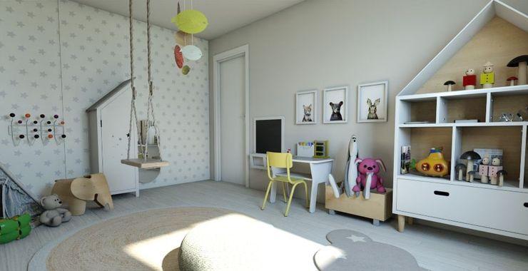 Habitación Montessori Gabi's Home EstudioEscritorios Blanco