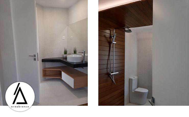 Areabranca Banheiros modernos