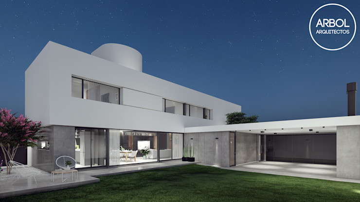ARBOL Arquitectos Minimalist house