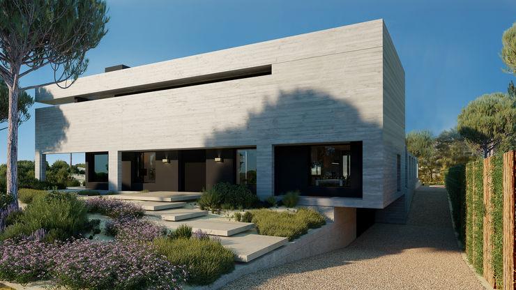 Fachada da Moradia Architecture TOTE SER Moradias