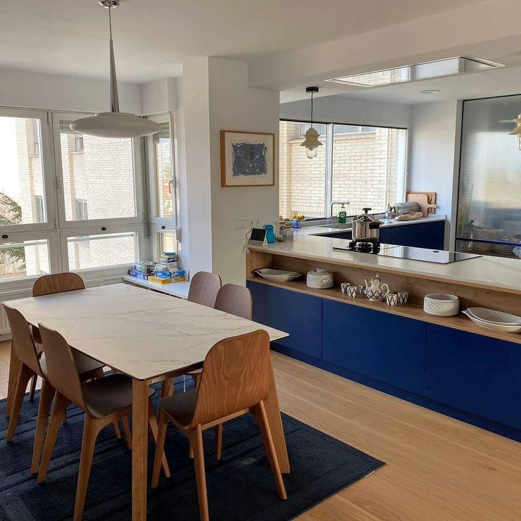 Muebles de Cocina Aries Встроенные кухни Синий