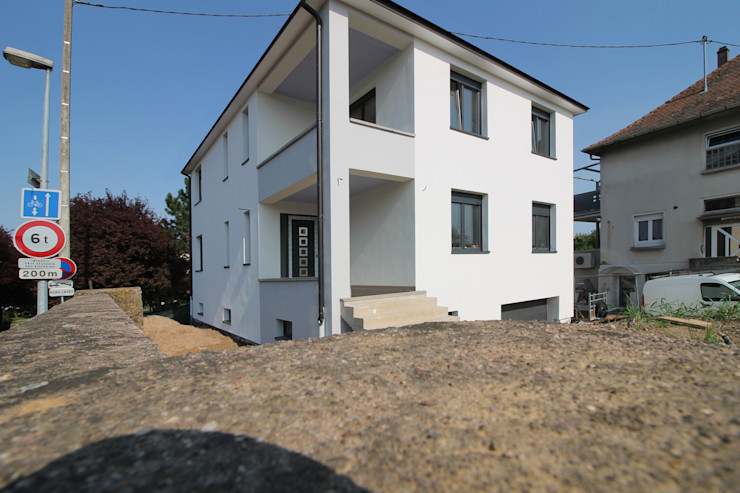 CONSTRUCTION A STRASBOURG Agence ADI-HOME Maison individuelle