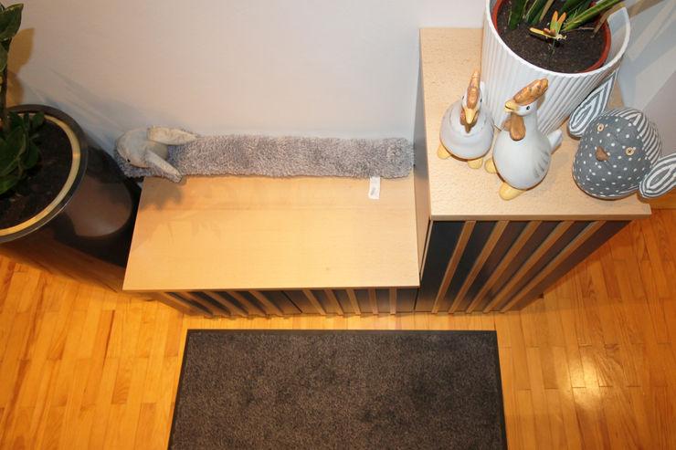 MAISON A SOUFFELWEYERSHEIM Agence ADI-HOME Couloir, entrée, escaliers modernes