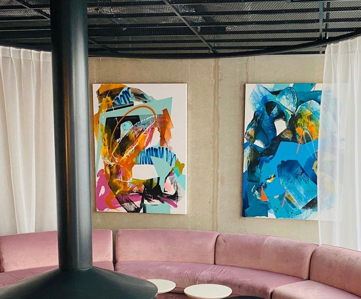 Art / Kunst Konzept - Hotel MARKUS HILZINGER Moderner Flur, Diele & Treppenhaus