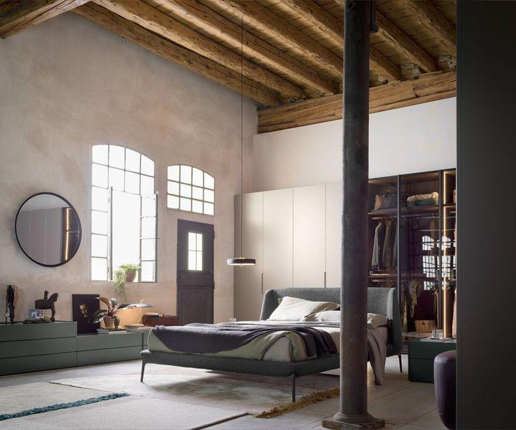 Livarea モダンスタイルの寝室