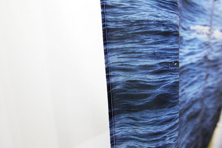 量身定做獨一無二的窗邊美好 -客製化圖案窗簾・大圖輸出窗簾・個人化訂製窗簾 MSBT 幔室布緹 窗戶與門窗廉與布簾 Blue
