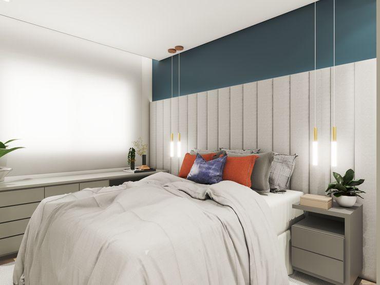 Studio M Arquitetura Small bedroom