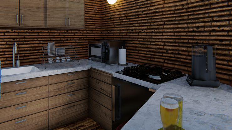 Variabilidad IMZA Arquitectura Casas pequeñas Bambú Blanco