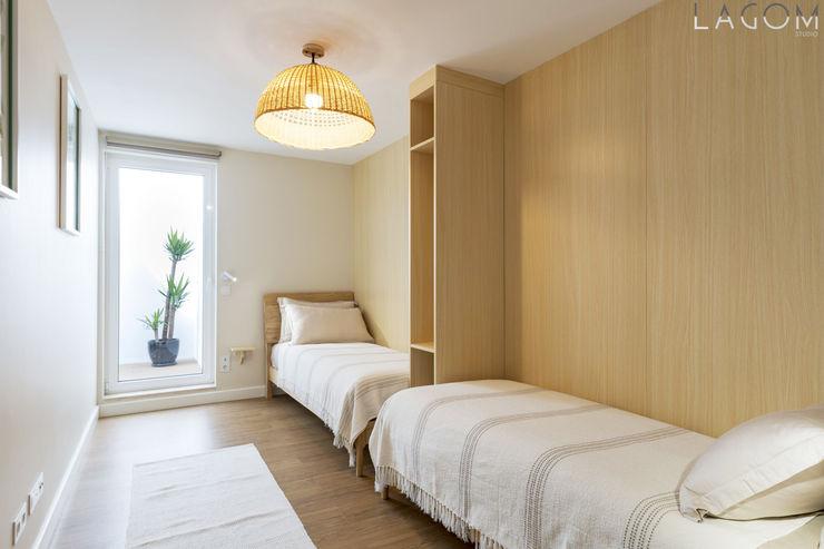 Quarto 2 Lagom studio Hotéis escandinavos Madeira Bege