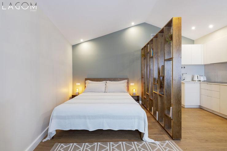 Quarto Lagom studio Hotéis escandinavos Madeira Verde