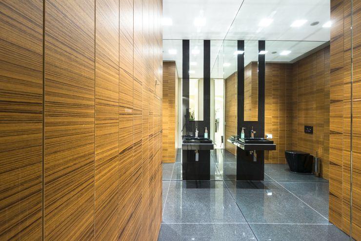 Teak wood wall coverings Tognini Bespoke Furniture Walls & flooringWall & floor coverings Wood Brown