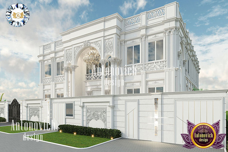 BEST ARCHITECTURE DESIGN FOR VILLA BY LUXURY ANTONOVICH DESIGN Luxury Antonovich Design Classic style houses