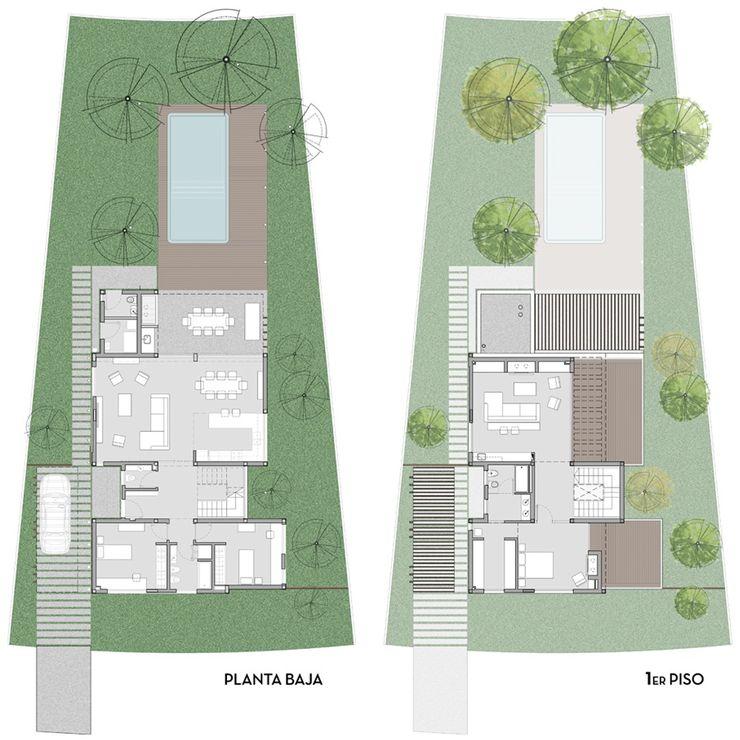 D4-Arquitectos Single family home Wood Grey