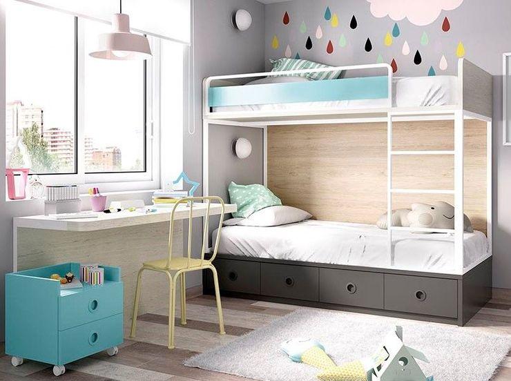 Intense mobiliário e interiores Recámaras para adolescentes