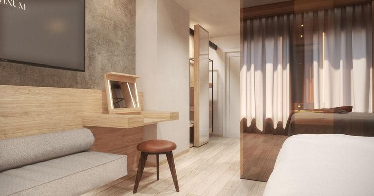 CONTRACT SOSTENIBILE E DESIGN: IL PROGETTO PLATINUM TRA NASHVILLE E NEW ORLEANS PARLA ITALIANO Anidride Design Hotel in stile industrial
