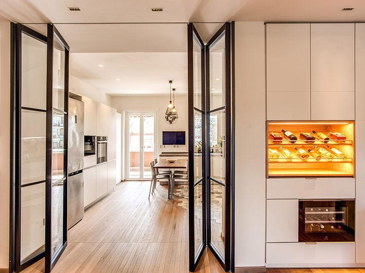 cantina vini MOB ARCHITECTS Cucina moderna