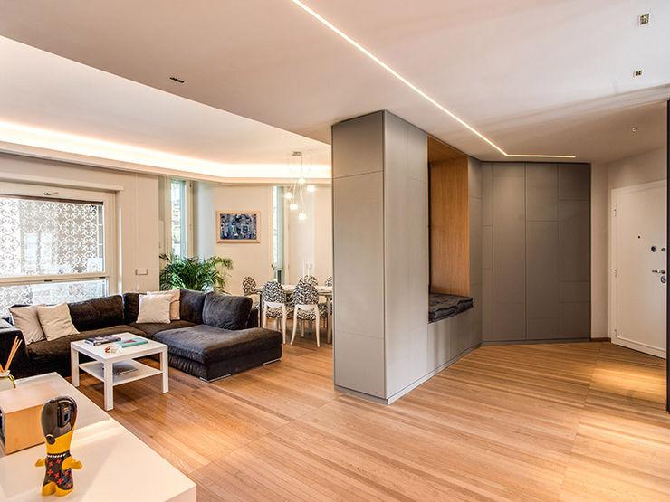 soggiorno MOB ARCHITECTS Sala da pranzo moderna