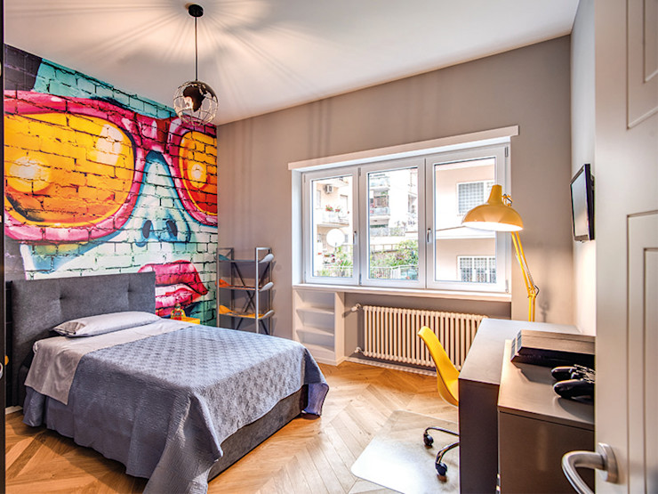 BRAIDA MOB ARCHITECTS Camera da letto moderna