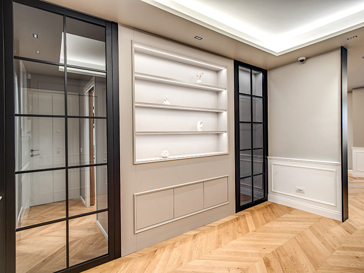 BRAIDA MOB ARCHITECTS Ingresso, Corridoio & Scale in stile moderno