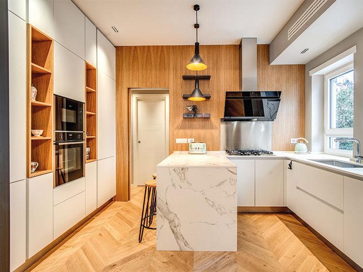 BRAIDA MOB ARCHITECTS Cucina moderna