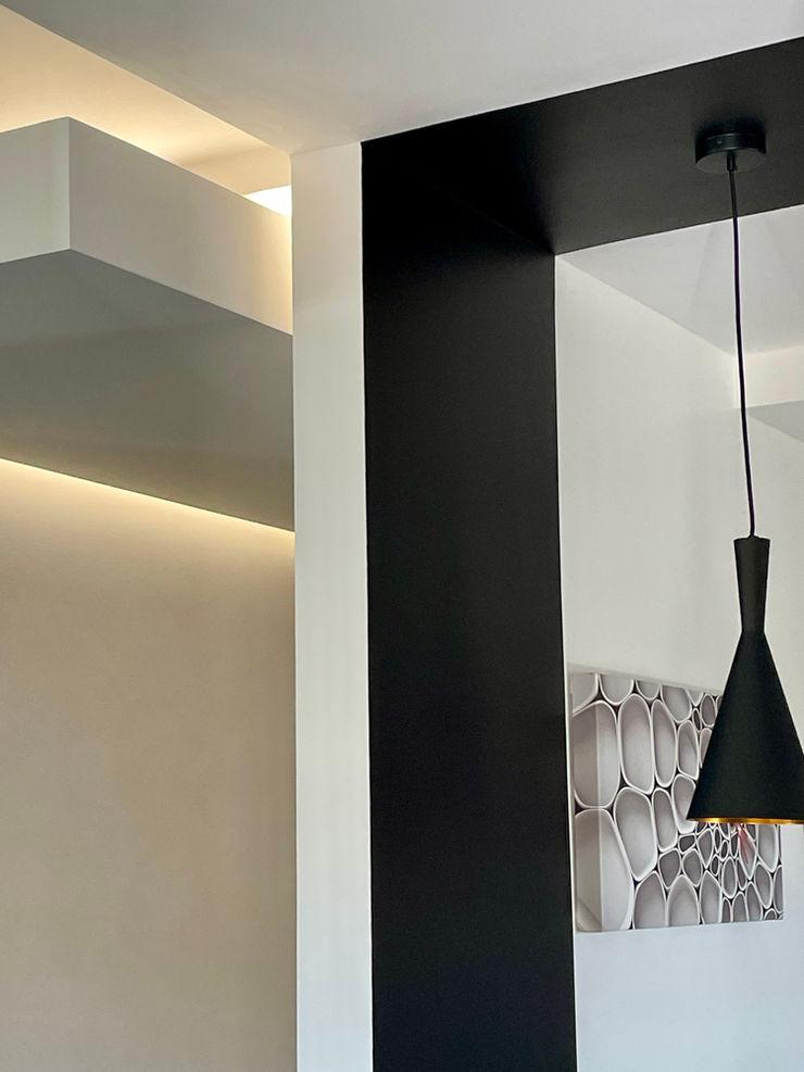 Lampen MEF Architect KeukenVerlichting Houtcomposiet Zwart