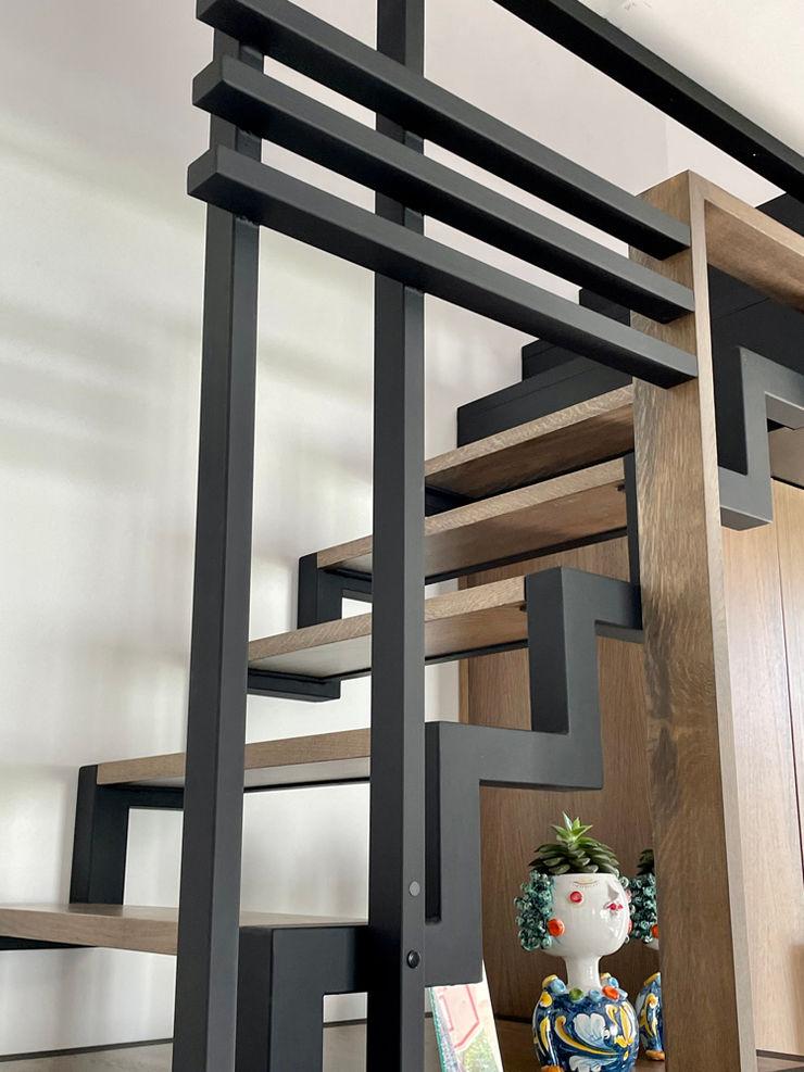 de trap MEF Architect WoonkamerKasten & dressoirs Metaal Hout