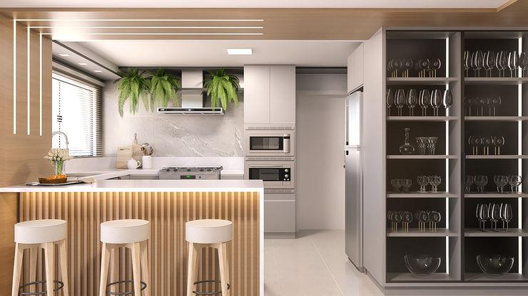 Cozinha Cláudia Legonde Armários e bancadas de cozinha