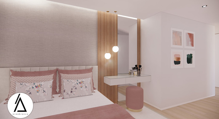Suite FR Areabranca Quartos modernos