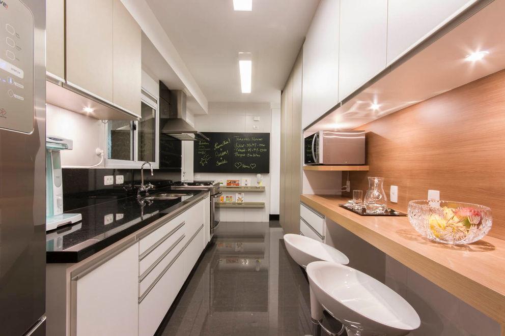 Apartamento Brooklin - São Paulo Luni Arquitetura Cozinhas modernas