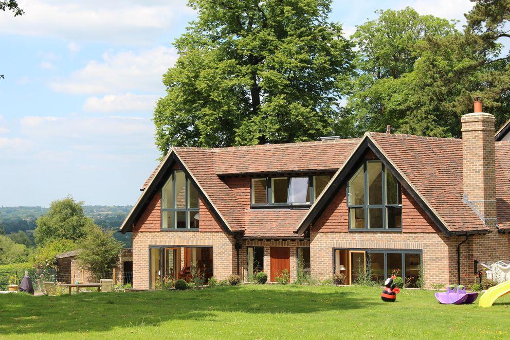 Portfolio David Jenkins Design Ltd Single family home Tiles Red