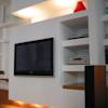 Salas de estar minimalistas por Laura Marini Architetto