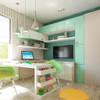 Акварельные карандаши: Детские комнаты в translation missing: ru.style.Детские-комнаты.modern. Автор - Sweet Hoome Interiors