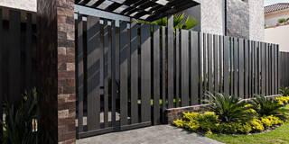 Habitações translation missing: pt.style.habitações.moderno por Arq. Bernardo Hinojosa