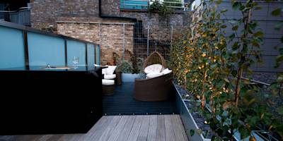 Terraços translation missing: pt.style.terraços.moderno por Urban Roof Gardens