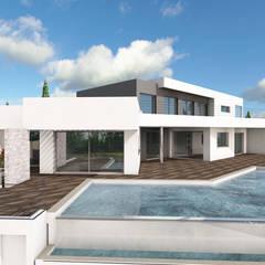 Villa Gaïa: Maisons de style de style Moderne par MAAD Architectes