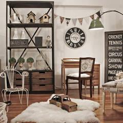 Dormitorios infantiles de estilo rústico por Estación Ortiz