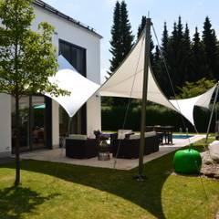 Sonnensegel: translation missing: de.style.terrasse.modern Terrasse von aeronautec GmbH