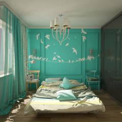 kate apt: Camera da letto in stile in stile Eclettico di labzona