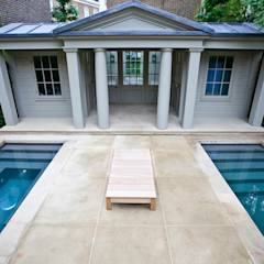 Twin Plunge Pools : colonial Pool by London Swimming Pool Company
