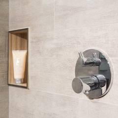 Badezimmer ideen inspiration homify - Nischenregal badezimmer ...