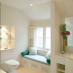 Belsize Park: modern Bathroom by Hélène Dabrowski Interiors