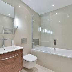 Bathroom: modern Bathroom by The Lady Builder