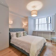 Bedroom: modern Bedroom by The Lady Builder
