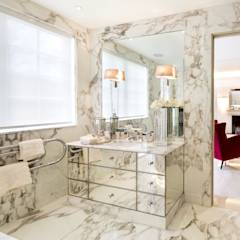 Fairways at the Bishops Avenue: modern Bathroom by Celia Sawyer Luxury Interiors