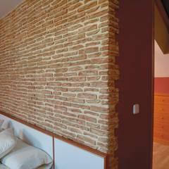 Dormitorios de estilo rústico por Pinturas oliváN